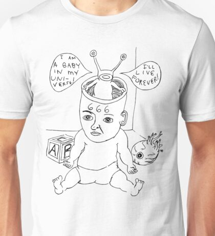 Devil Baby Drawing Unisex T-Shirt