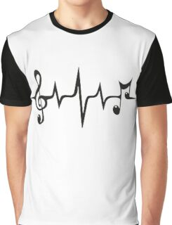Music Pulse Graphic T-Shirt