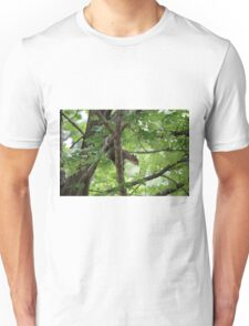 squirrel on the tree Unisex T-Shirt
