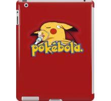 Pokebola - sick dying Pikachu ebola iPad Case/Skin