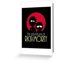 Rick and Morty Adventures A Hundred Years shirt phone ipad case pillow hoodie Greeting Card