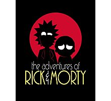 Rick and Morty Adventures A Hundred Years shirt phone ipad case pillow hoodie Photographic Print