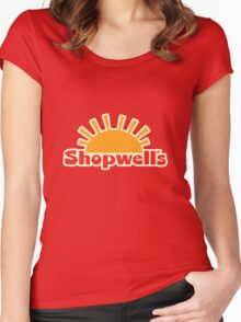 Enjoy a Sausage Party at Shopwell's Women's Fitted Scoop T-Shirt