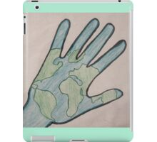 The World in Your Hand iPad Case/Skin