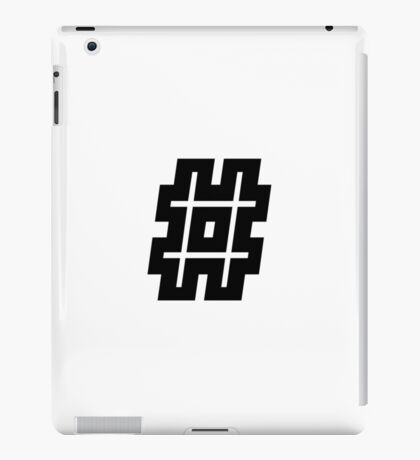 Hash-Tag iPad Case/Skin