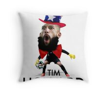 Tim Howard USMNT Throw Pillow