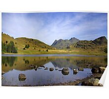 Peaceful Waters - Blea Tarn Poster