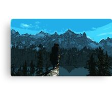 Beauty of Skyrim Canvas Print