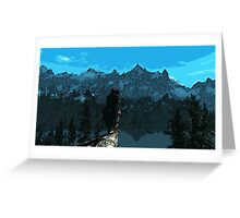 Beauty of Skyrim Greeting Card