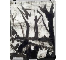 ghost trees iPad Case/Skin