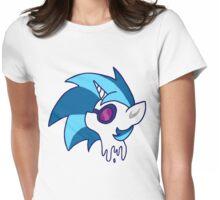 Vinyl Scratch (DJ Pon-3) Womens Fitted T-Shirt
