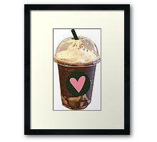 Artsy Coffee Cup Framed Print