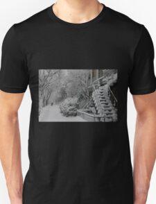 Montreal Snow Winter Scene Unisex T-Shirt
