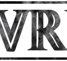 PVRIS logo smoke Sticker
