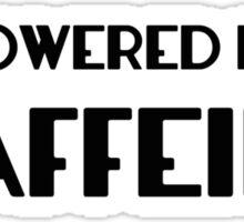 Powered By Caffeine Sticker
