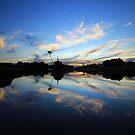 Spinks Dam, Forest , Tasmania . Australia by phillip wise