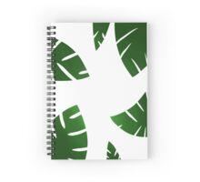 simplistic leaf design Spiral Notebook