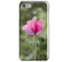 Pink Poppy  iPhone Case/Skin