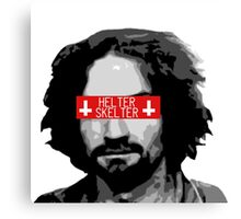 Charles Manson - Helter Skelter Canvas Print