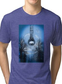 guitar nature  Tri-blend T-Shirt