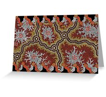 Aboriginal Art Authentic – Travels Greeting Card