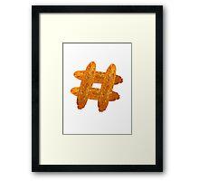 Hash(brown)tag Framed Print