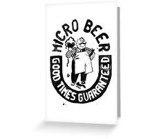 #BeerWatercolorStyle Greeting Card