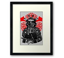 The Bushi Trooper Framed Print