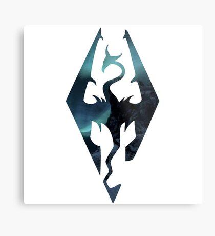 Skyrim - Elder Scrolls Aesthetic Metal Print