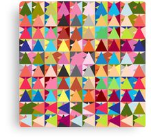 Throw Pillows geometric  Canvas Print