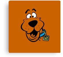 SCOOBY DOO FACE Canvas Print