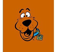 SCOOBY DOO FACE Photographic Print