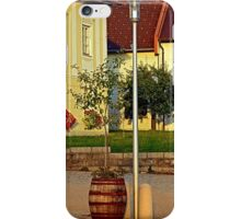 Tree in apple wine barrel | conceptual photography iPhone Case/Skin