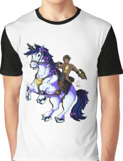 Handsome Jack and Butt Stallion Graphic T-Shirt