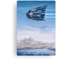Bubbleship Canvas Print