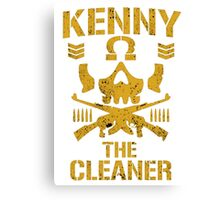 Kenny The Cleaner Canvas Print