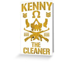 Kenny The Cleaner Greeting Card