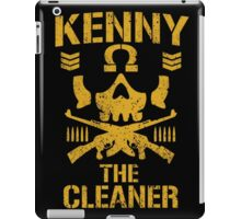 Kenny The Cleaner iPad Case/Skin