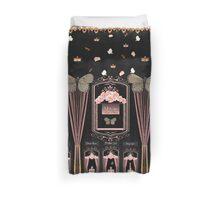 Victorian Asylum of Roses Duvet Cover
