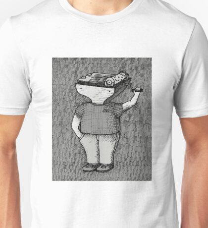 The lonely street organ grinder Unisex T-Shirt