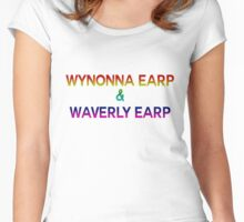 Wynonna & Waverly Women's Fitted Scoop T-Shirt