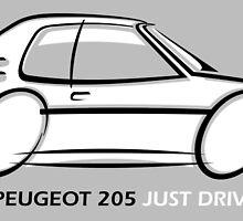 Peugeot 205  by car2oonz