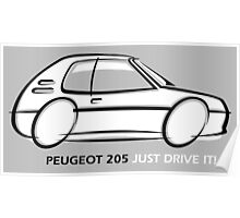 Peugeot 205  Poster