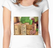 Corks Women's Fitted Scoop T-Shirt