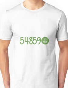 Camp Birch Trail Zip Code Unisex T-Shirt