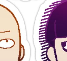 OPM & Mob Psycho 100 Sticker