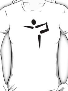 Yoga Gymnastics logo T-Shirt