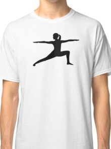 Yoga woman Classic T-Shirt