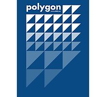 Polygon (w) Photographic Print