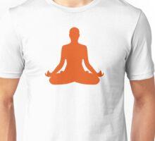 Yoga meditation Unisex T-Shirt